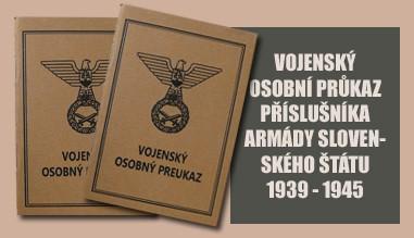 Vojenská knížka Sloveského štátu 1939-45