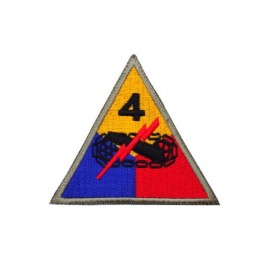 US nášivka 4th Armoured Division