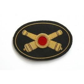 Znak na képi či klobouk Artillery - dělostřelectvo/velký