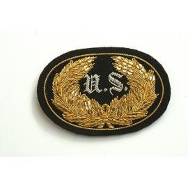 US znak na képi či klobouk důstojníka