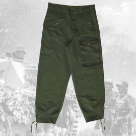Kalhoty Pz. drillich WH Panzerhose
