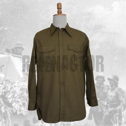 Košile DAK Afrikakorps s dlouhým rukálem - olivová