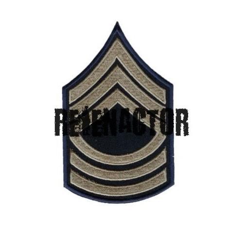 US hodnost Master Sergeant - khaki