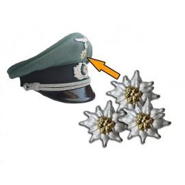 WH odznak Edelweiss na brigadýrku GJ