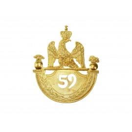 Odznak francouzských granátníků 1812