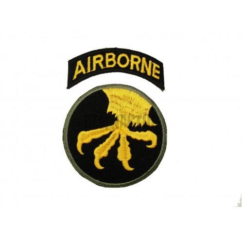 US nášivka 17th Airborne Division