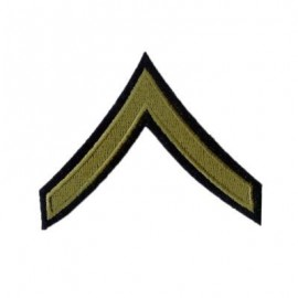US hodnost Private 1st Class - oliv
