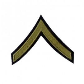 US hodnost Private 1st Class - oliv