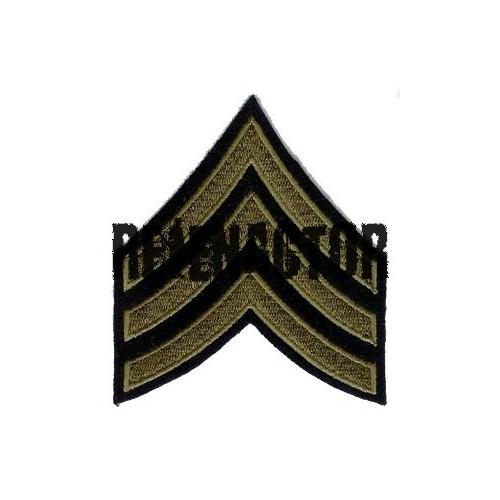 US hodnost Sergeant- oliv