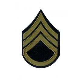 US hodnost Staff Sergeant - oliv