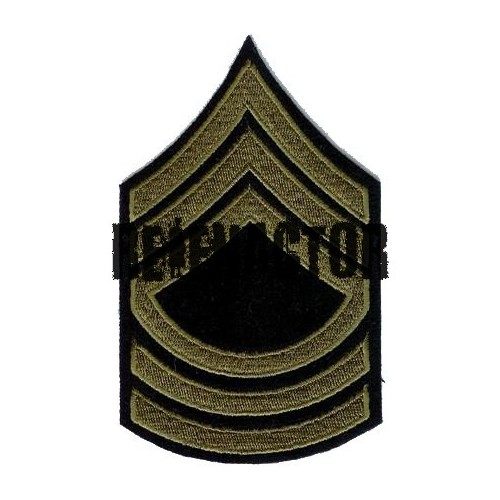 US hodnost Master Sergeant - oliv