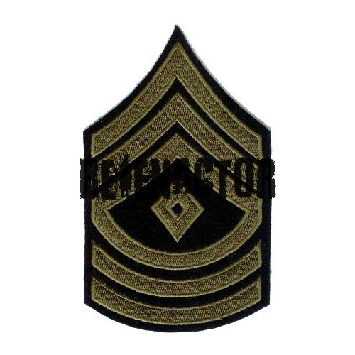 US hodnost First Sergeant - oliv