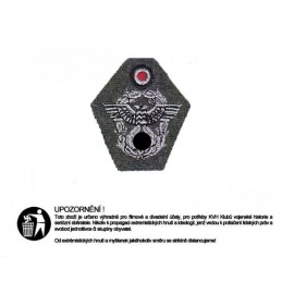 Policejní označení na čepici M43 vyšívané