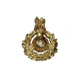 Odznak na čapku Royal Marines - RM