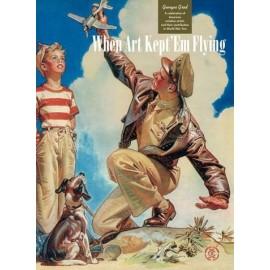 When art kept'em flying American WWII Aviation seen through advertising