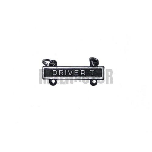 Driver-T - závěsný kvalifikační štítek pro řidiče pásových vozidel