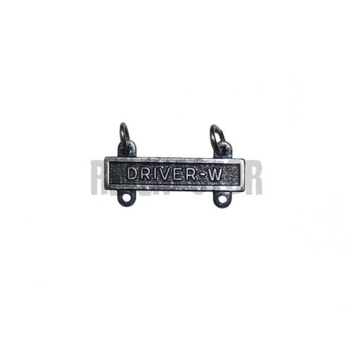 Driver-W - závěsný kvalifikační štítek pro řidiče kolových vozidel