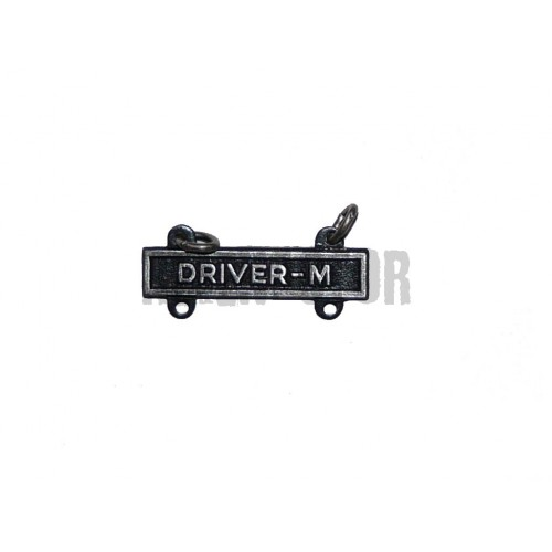 Driver-M - závěsný kvalifikační štítek pro řidiče motocyklů