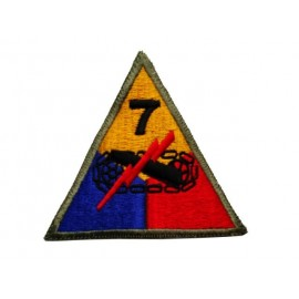 US nášivka 7th Armoured Division