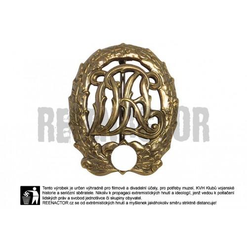 Sportovní odznak - bronzový DRL
