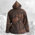 Zimní bunda dubové listí