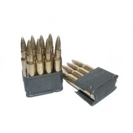 Nabíjecí rámeček pro pušku M1 Garand - klips s nábojnicemi