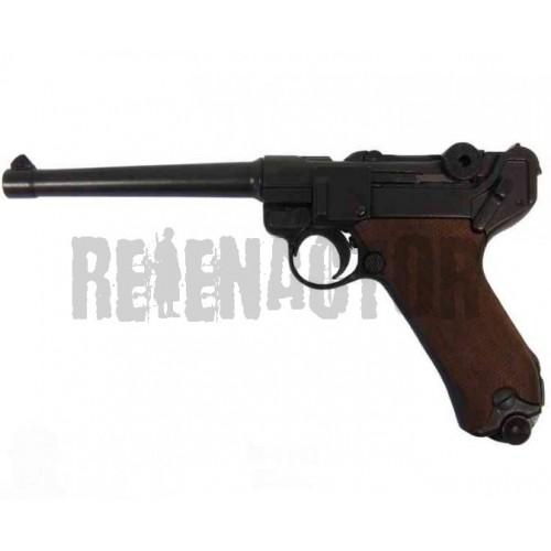Německá námořní pistole Parabellum Luger P08 dřevěné střenky