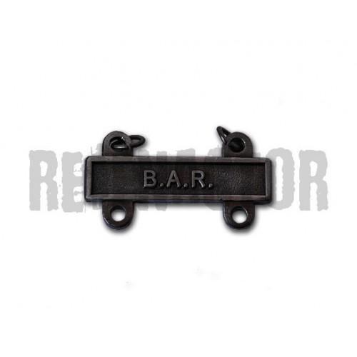 Závěsný štítek BAR pro kvalifikační odznak