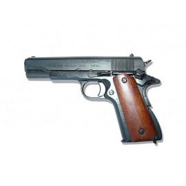 Pistole Colt M1911A1 dřevené střenky