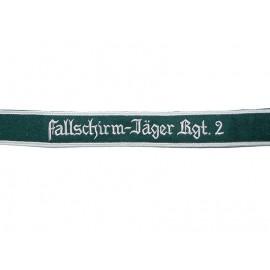 WL manžetová stuha Fallschirmjäger Regiment 2
