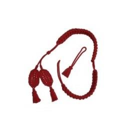 Šnůry červené na Bearskin