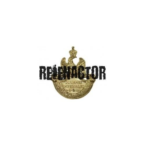 Francouzský odznak na čepici 1812 Douane Imperiales