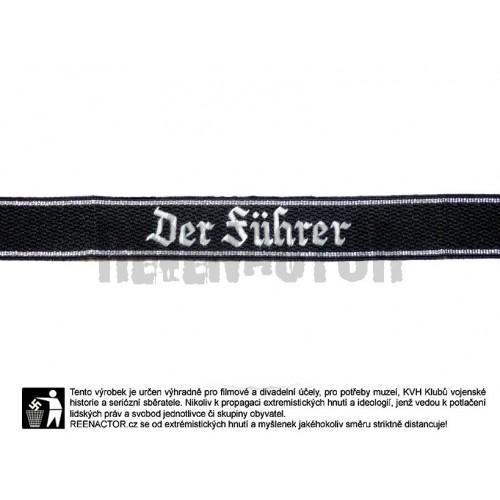 Rukávová páska 4. SS Btl. Pz.Gren. Der Führer - vyšívaná