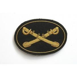 Znak na képi či klobouk Cavalry-jezdectvo