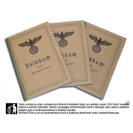 WH Soldbuch - Vojenská knížka WH