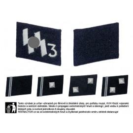 SS-VT límcové výložky vyšívané - pluk Der Führer