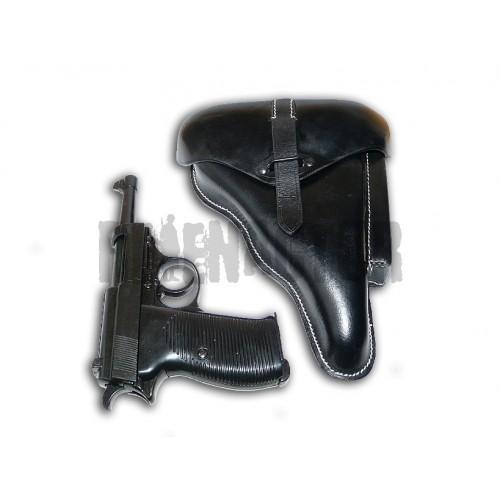 Německá armádní pistole Walther P38 s pouzdrem