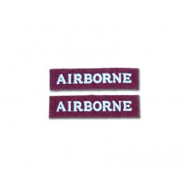 Britská rukávová nášivka Airborne