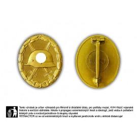 Odznak za zranění ve zlatě Verwundeten abzeichen
