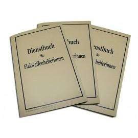 Dienstbuch für Flakwaffenhelferinnen - služební knížka