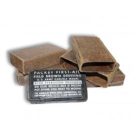 US First Aid Packet M42 - balíček první pomoci v papírové krabičce
