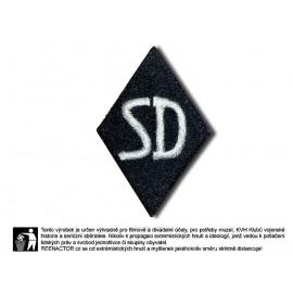 Nášivka na rukáv SD - Sicherheitsdienst pro mužstvo