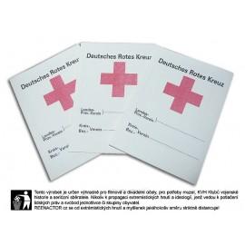 Průkaz člena německého červeného kříže - DRK