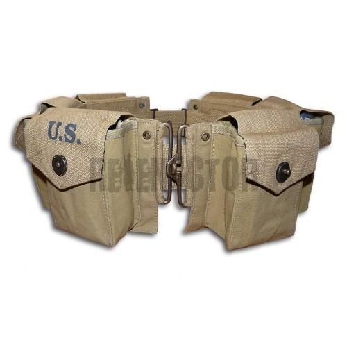Opasek se sumkami na zásobníky k BAR M1918 - Browning automatic rifle