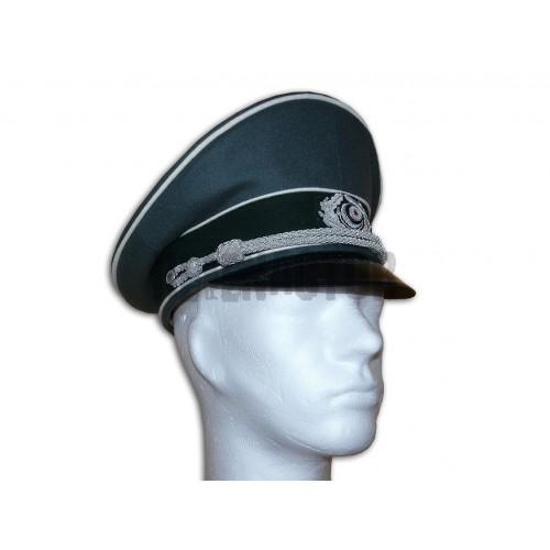 WH brigadýrka pro důstojníky z vlny - offizier schirmmütze - EREL®