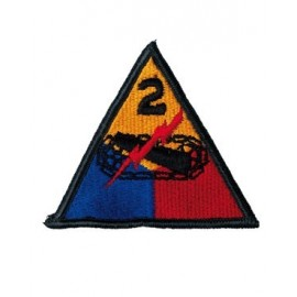 US nášivka 2nd Armoured Division