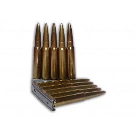 Nabíjecí pásek pro pušku Mauser 98k včetně nábojnic