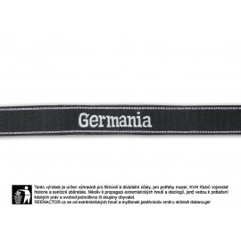 Manžetová stuha 9. SS Pz Rgt Germania - vyšívaná