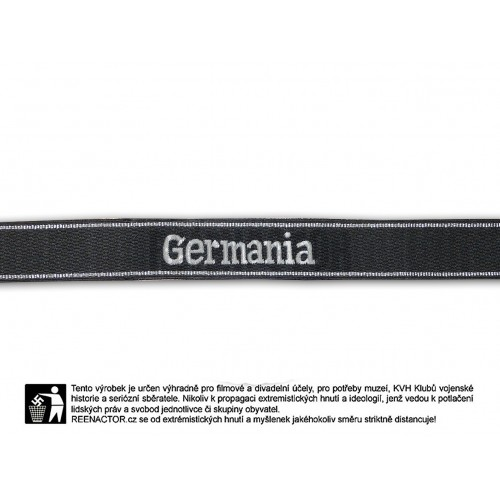 Rukávová páska 9 SS Pz Rgt Germania - vyšívaná