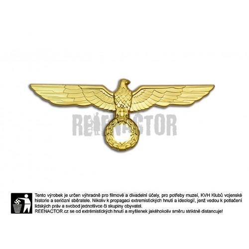 Kovová orlice na brigadýrku pro generály WH a důstojníky Kriegsmarine